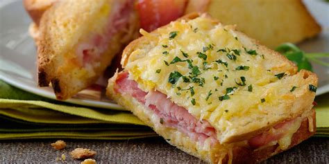 cuisine simple croque monsieur