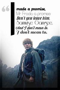 The Rings Quote... Frodo Elvish Quotes