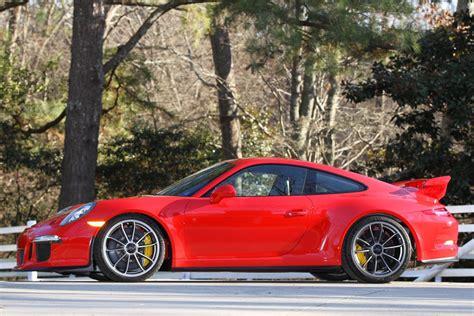 2014 Porsche 911 Gt3 1,100 Mi. Guards Red/black