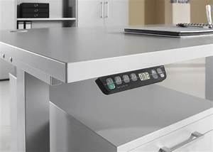 Tisch Höhenverstellbar Elektrisch : elektrisch h henverstellbarer tisch xdsm 120 grau art ~ A.2002-acura-tl-radio.info Haus und Dekorationen