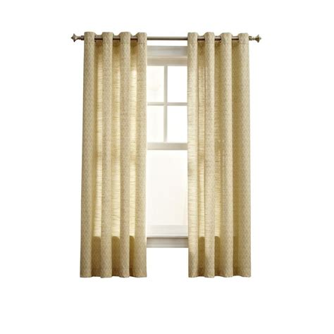 Curtain Grommet Kit Home Depot by Martha Stewart Living Yellow Magnolia Sky Grommet