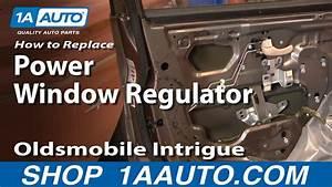 How To Replace Window Regulator 98