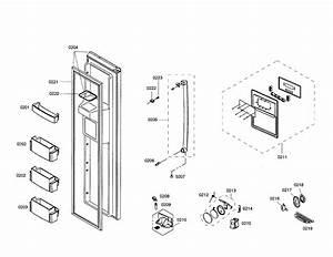 Freezer Door Diagram  U0026 Parts List For Model B20cs80sns01