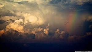 Download Storm Clouds And Rainbow Wallpaper 1920x1080 ...