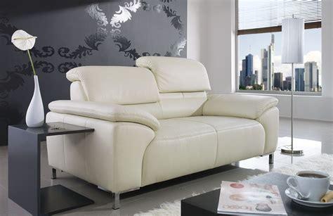 Sofa Farbe ändern by Ponsel Ledersofa Wei 223 Sofas Couches Kaufen