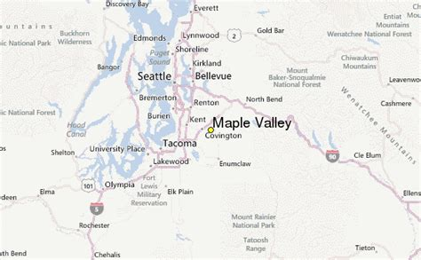 Valley Weather by Maple Valley Weather Station Record Historical Weather
