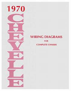 Wiring Diagram Manual  1970 Chevelle  El Camino