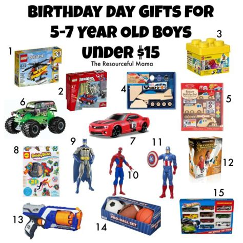 christmas gifts for 7 year old boys birthday gifts for 5 7 year boys 15 the resourceful birthday gifts for boys