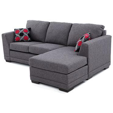 canapé récamier sofa avec récamier réversible de meubles belisle 20774dg