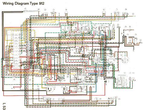 1975 911 Tach Wiring Diagram by Wiring Diagram Type 912