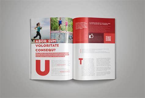 Magazine Format Template by Fashion Magazine Template Stockindesign