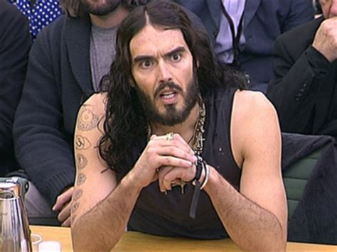 russell brand finance russell brand wears a tank top to take on parliament