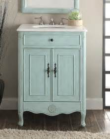 26 inch adelina cottage light blue bathroom vanity crystal