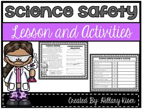 Best 25+ Science Safety Lessons Ideas On Pinterest