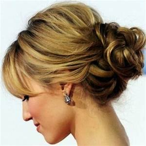 Updo Hairstyles For Long Hair With Bangs HairStyles