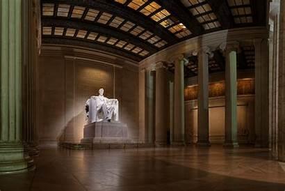 Lincoln Memorial Inside Monument Dc Memory