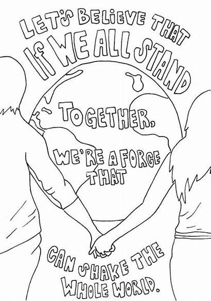 Coloring Lyrics Pages Lyric Band Drawings Drawing