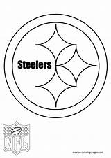 Steelers Pittsburgh Coloring Pages Nfl Template Printable Steeler Sketch Sheets Logos Symbol Sketchite Sports Ben Pdf Nation Templates Popular sketch template