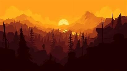 Desktop Firewatch Orange Iphone