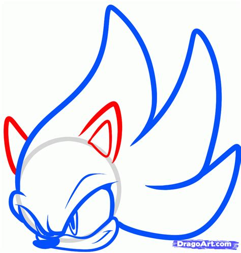 easy pictures to draw how to draw super sonic easy step by step sonic characters pop culture free online drawing