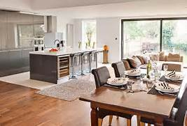 Open Plan Kitchen Dining Room And Living Room by Getting Creative The Open Plan Kitchen Dinner Buyers Guides Home Ideas