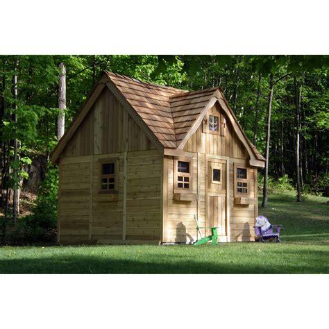 laurens cottage playhouse outdoor playhouses  hayneedle