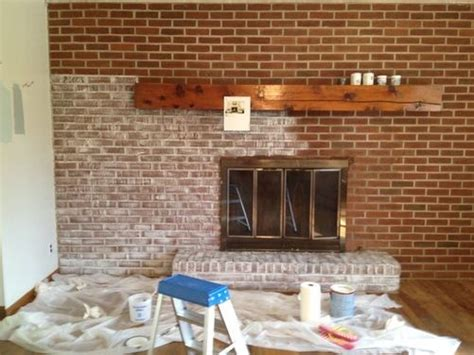 sponge painting brick fireplace best 25 brick fireplace remodel ideas on