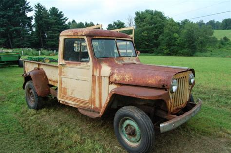 willys jeep pickup for sale 1948 willys jeep pickup truck for sale in newport