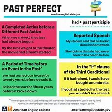 22 Best Past Perfect Images On Pinterest  English Language, Learn English And Learning English