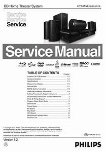 Philips Hts3551 Service Manual Pdf Download