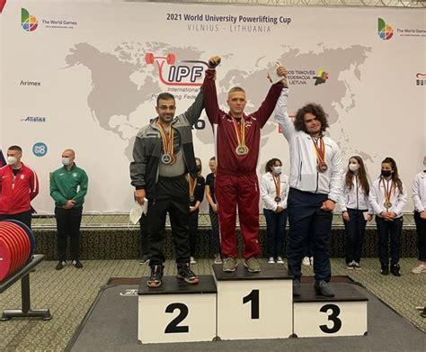 Intars Baumanis triumfē Pasaules Universitāšu Kausā, kļūstot par sacensību absolūto uzvarētāju ...