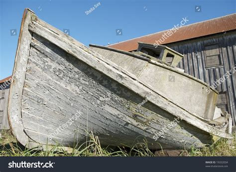 Bow Of Old Boat by Bow Of Old Wooden Boat Stock Photo 19332034 Shutterstock