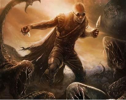 Warrior Warriors Fantasy Riddick Diesel Vin Monster