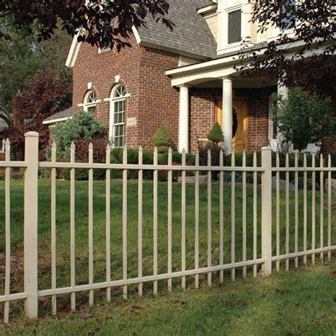 aluminum fence installation durable sleek fencing kmg fence