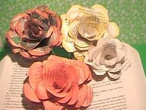 Rosen Aus Papier : tolle rosen aus papier schnell und einfach great roses of paper very easy youtube ~ Frokenaadalensverden.com Haus und Dekorationen