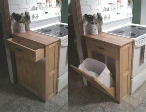wood tilt out trash cabinet diy wood tilt out trash or recycling cabinet tutorial by