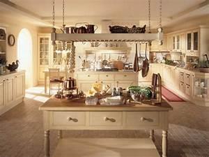 Küche Mit Kochinsel Gebraucht : die wohnung im landhausstil einrichten 30 super ideen ~ Michelbontemps.com Haus und Dekorationen