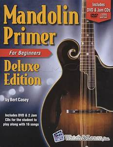 Mandolin Primer For Beginners Deluxe Edition Music Book