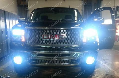 gmc led interior dome license lights hid conversion kit