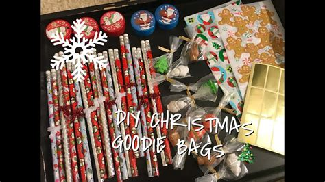 diy holiday goodie bags  kids quick cheap easy