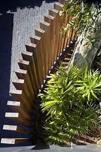 Cloture Bois Design : moderne sichtschutzelemente aus holz gastaltungsideen ~ Melissatoandfro.com Idées de Décoration