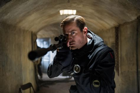"""Armie Hammer, the Ultimate Russian Spy in """"Man from U.N.C ..."""
