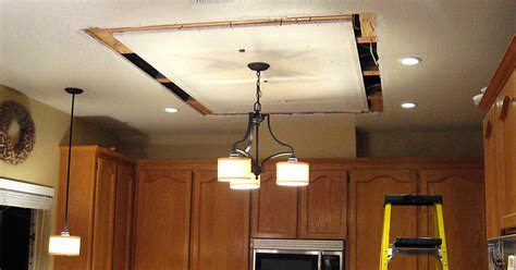 Replacing/Updating Fluorescent Ceiling Box Lights With