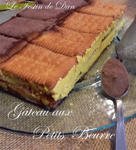 dessert avec petit lu gateau petits beurres vanille chocolat