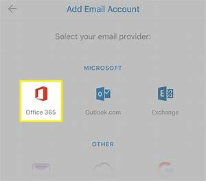 Setting up Office365 on your iPhone using Outlook app