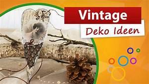 Bärbels Wohn Und Deko Ideen : vintage deko ideen wir basteln eine herz dekoration trendmarkt24 bastelideen youtube ~ Orissabook.com Haus und Dekorationen