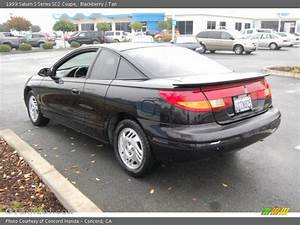 1999 Saturn S Series Sc2 Coupe In Blackberry Photo No