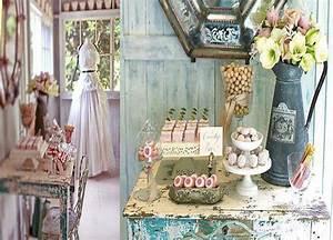 Shabby chic vintage romantic decorations et charme a l for Decoration chic et charme