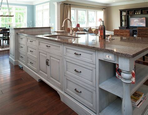 kitchen center island with sink mullet cabinet family of 7 kitchen