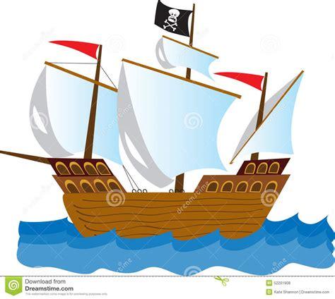 Barco Vikingo Animado by Pirate Ship Stock Vector Illustration Of Pirate Cartoon